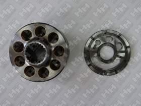 Блок поршней c распределительной плитой для гусеничный экскаватор KOMATSU PC220-8 (708-2L-06470, 708-2L-06480)